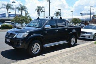 2014 Toyota Hilux KUN26R MY14 SR5 Black (4x4) Black 5 Speed Automatic Dual Cab Pick-up.