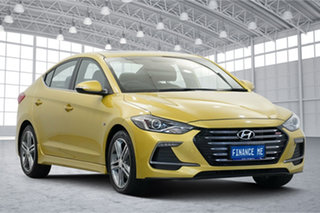 2017 Hyundai Elantra AD MY18 SR Turbo Gold 6 Speed Manual Sedan.