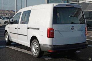 2020 Volkswagen Caddy 2KN MY20 TDI250 Crewvan Maxi DSG White 6 Speed Sports Automatic Dual Clutch