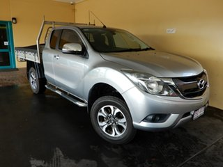2015 Mazda BT-50 MY16 XTR (4x4) Silver 6 Speed Automatic Freestyle Utility