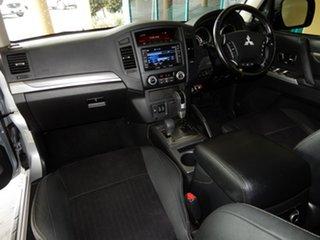 2013 Mitsubishi Pajero NW MY14 VR-X LWB (4x4) Silver 5 Speed Auto Sports Mode Wagon.