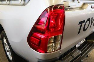 2015 Toyota Hilux GUN126R SR (4x4) Silver Sky 6 Speed Manual Dual Cab Utility