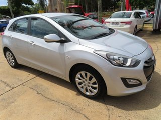 2014 Hyundai i30 Active Silver Automatic Hatchback.