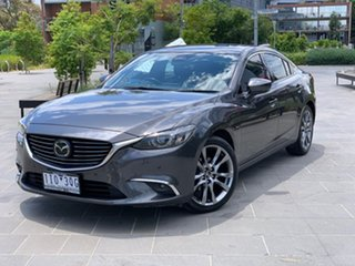 2016 Mazda 6 GL1031 Atenza SKYACTIV-Drive Grey 6 Speed Sports Automatic Sedan