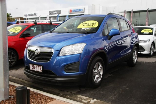 Used Holden Trax TJ MY14 LS Aspley, 2014 Holden Trax TJ MY14 LS Blue 5 Speed Manual Wagon
