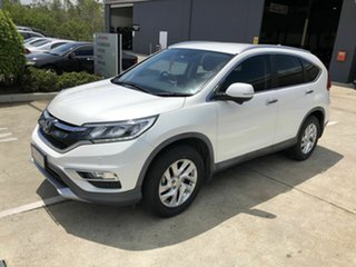 2016 Honda CR-V RM Series II MY17 VTi-S 4WD White 5 Speed Sports Automatic Wagon