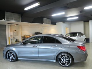 2013 Mercedes-Benz CLA-Class C117 CLA200 DCT Mountain Grey 7 Speed Sports Automatic Dual Clutch