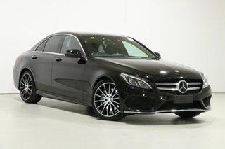 2016 Mercedes-Benz C250 205 MY16 Black 7 Speed Automatic Sedan.