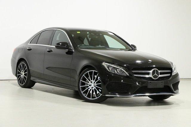 Used Mercedes-Benz C250 205 MY16 Bentley, 2016 Mercedes-Benz C250 205 MY16 Black 7 Speed Automatic Sedan