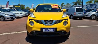 2015 Nissan Juke F15 Series 2 ST X-tronic 2WD Yellow 1 Speed Constant Variable Hatchback.