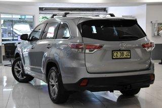 2014 Toyota Kluger GSU55R GX AWD Silver 6 Speed Sports Automatic Wagon.
