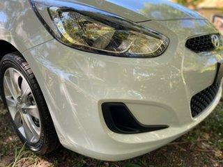 2019 Hyundai Accent RB6 MY19 Sport Chalk White 6 Speed Manual Hatchback.
