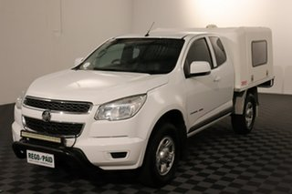 2014 Holden Colorado RG MY15 LS Space Cab White 6 speed Automatic Cab Chassis.