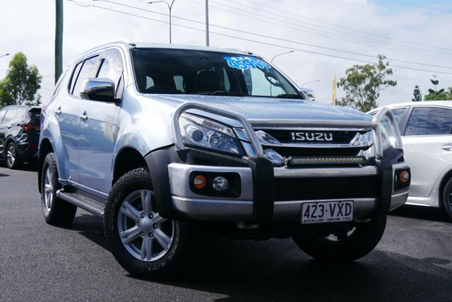 Used Isuzu MU-X MY15 LS-T Rev-Tronic Hillcrest, 2015 Isuzu MU-X MY15 LS-T Rev-Tronic Blue 5 Speed Sports Automatic Wagon