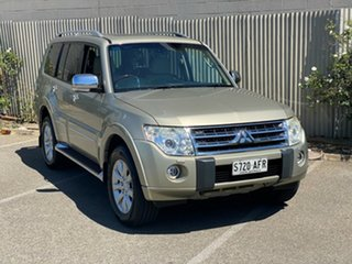 2010 Mitsubishi Pajero NT MY10 Exceed Gold 5 Speed Sports Automatic Wagon.