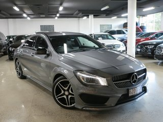 2013 Mercedes-Benz CLA-Class C117 CLA200 DCT Mountain Grey 7 Speed Sports Automatic Dual Clutch.