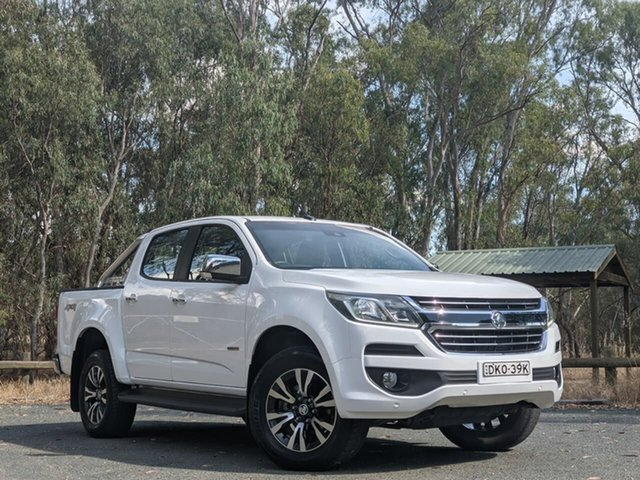 Used Holden Colorado RG MY17 LTZ Pickup Crew Cab Echuca, 2016 Holden Colorado RG MY17 LTZ Pickup Crew Cab White 6 Speed Sports Automatic Utility