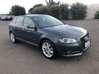 2010 Audi A3 8P MY10 TFSI Sportback S Tronic Attraction Grey 7 Speed Sports Automatic Dual Clutch.