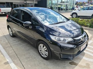 2016 Honda Jazz GF MY16 VTi Black 5 Speed Manual Hatchback.
