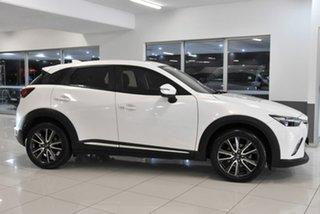 2015 Mazda CX-3 DK4W7A Akari SKYACTIV-Drive i-ACTIV AWD White 6 Speed Sports Automatic Wagon.