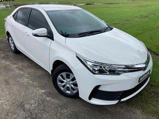 2018 Toyota Corolla ZRE172R Ascent S-CVT Glacier White 7 Speed Constant Variable Sedan.