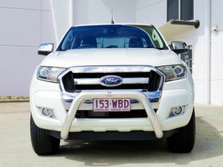 2015 Ford Ranger PX MkII XLT Double Cab White 6 Speed Sports Automatic Utility.
