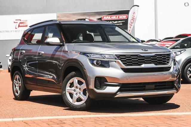 Demo Kia Seltos SP2 MY21 S 2WD Reynella, 2020 Kia Seltos SP2 MY21 S 2WD Grey 1 Speed Constant Variable Wagon