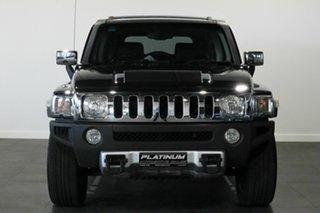 2008 Hummer H3 Luxury Black 4 Speed Automatic Wagon.