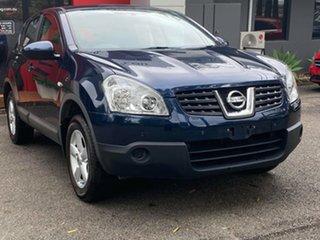 2009 Nissan Dualis J10 MY2009 ST Hatch Metallic Blue 6 Speed Manual Hatchback.