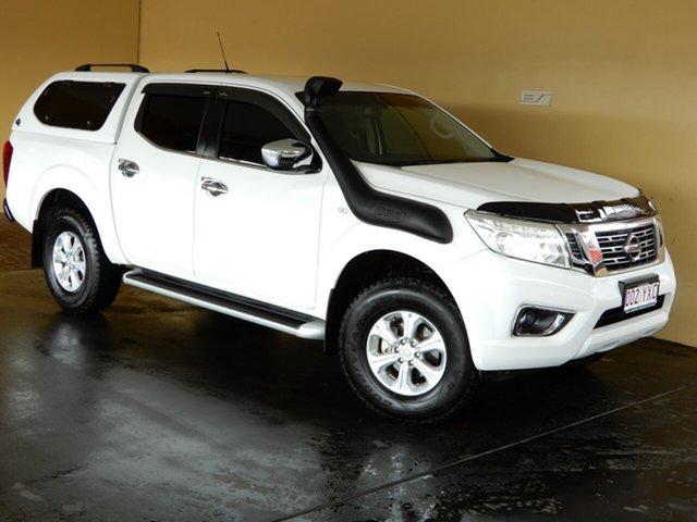 Used Nissan Navara NP300 D23 ST (4x4) Toowoomba, 2015 Nissan Navara NP300 D23 ST (4x4) White 6 Speed Manual Dual Cab Utility
