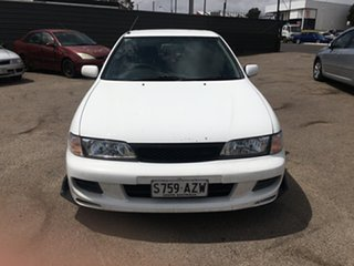 1999 Nissan Pulsar N15 S2 LX White 4 Speed Automatic Hatchback
