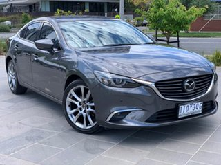 2016 Mazda 6 GL1031 Atenza SKYACTIV-Drive Grey 6 Speed Sports Automatic Sedan.