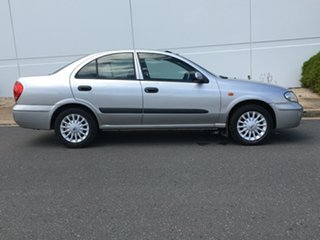 2003 Nissan Pulsar N16 S2 ST-L Silver 4 Speed Automatic Sedan.