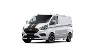 2020 Ford Transit Custom VN 2020.50MY 320S (Low Roof) Sport Frozen White 6 Speed Automatic Van.