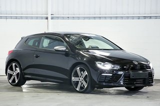 2016 Volkswagen Scirocco 1S MY16 R Coupe Black 6 Speed Manual Hatchback.