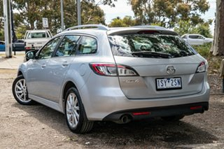 2010 Mazda 6 GH1052 MY10 Classic Silver 5 Speed Sports Automatic Wagon.