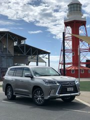 2018 Lexus LX URJ201R LX570 Grey 8 Speed Sports Automatic Wagon.