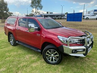 2015 Toyota Hilux GUN126R SR5 Double Cab Red 6 Speed Manual Utility.