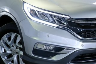 2015 Honda CR-V RM Series II MY16 VTi-S Silver 5 Speed Sports Automatic Wagon.
