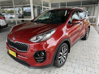2016 Kia Sportage SLi Red Sports Automatic Wagon.