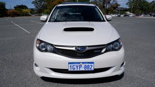 2009 Subaru Impreza G3 MY09 WRX AWD White 5 Speed Manual Sedan