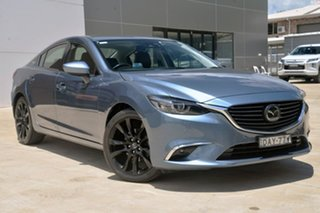 2015 Mazda 6 GJ1032 Atenza SKYACTIV-Drive Blue 6 Speed Sports Automatic Sedan.