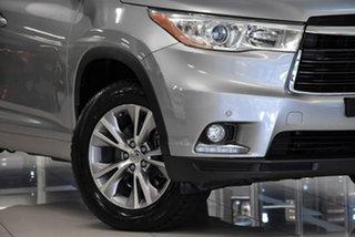 2014 Toyota Kluger GSU55R GX AWD Silver 6 Speed Sports Automatic Wagon