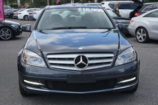 2010 Mercedes-Benz C-Class W204 MY10 C250 CGI Avantgarde Grey 5 Speed Sports Automatic Sedan.