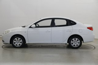 2008 Hyundai Elantra HD SX Crystal White 4 Speed Automatic Sedan.