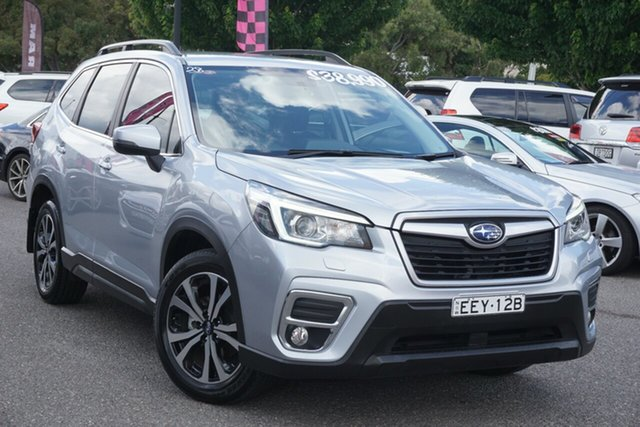 Used Subaru Forester S5 MY19 2.5i Premium CVT AWD Phillip, 2018 Subaru Forester S5 MY19 2.5i Premium CVT AWD Silver 7 Speed Constant Variable Wagon