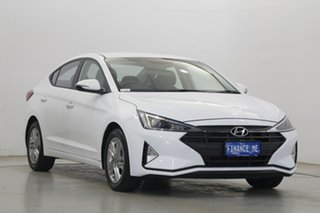 2020 Hyundai Elantra AD.2 MY20 Active Polar White 6 Speed Sports Automatic Sedan