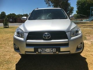 2012 Toyota RAV4 ACA33R 08 Upgrade Cruiser (4x4) Silver Pearl 4 Speed Automatic Wagon.