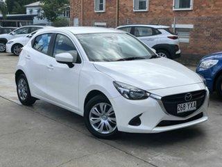 2019 Mazda 2 DJ2HAA Neo SKYACTIV-Drive White 6 Speed Sports Automatic Hatchback.