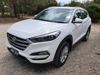 2017 Hyundai Tucson TL2 Active White Sports Automatic Wagon.